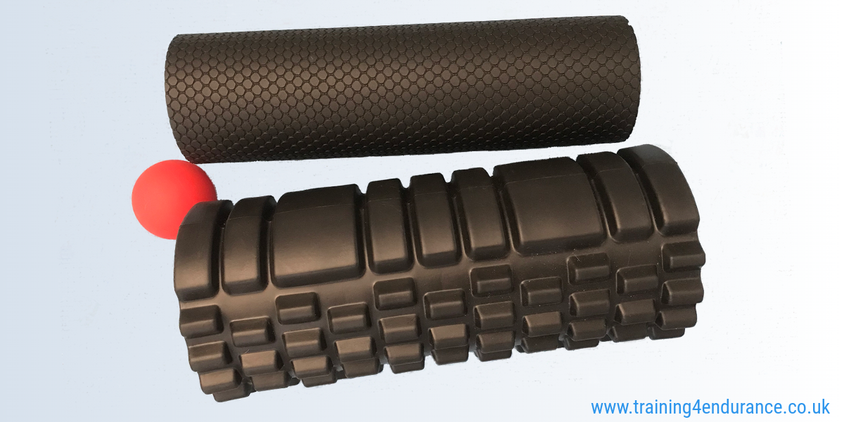 Using foam rollers to speed recovery, reduce DOMS and improve performance