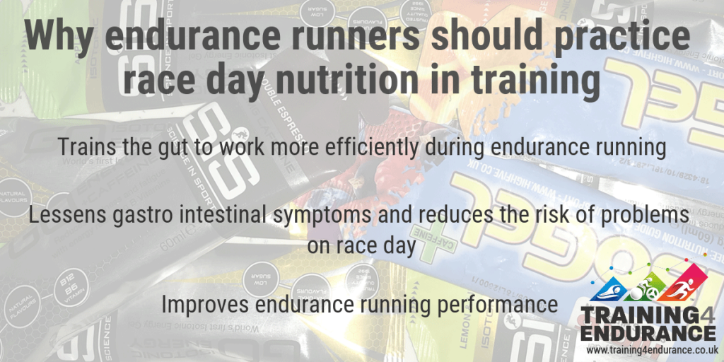 Race day nutrition for runners