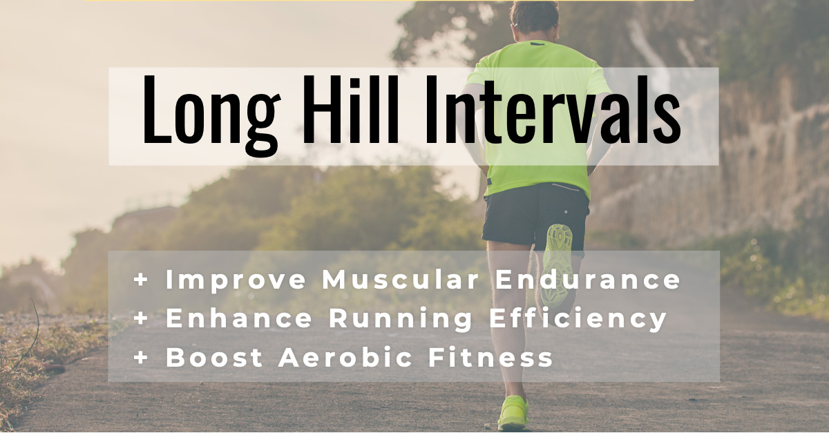Long Hill VO2max Running Intervals
