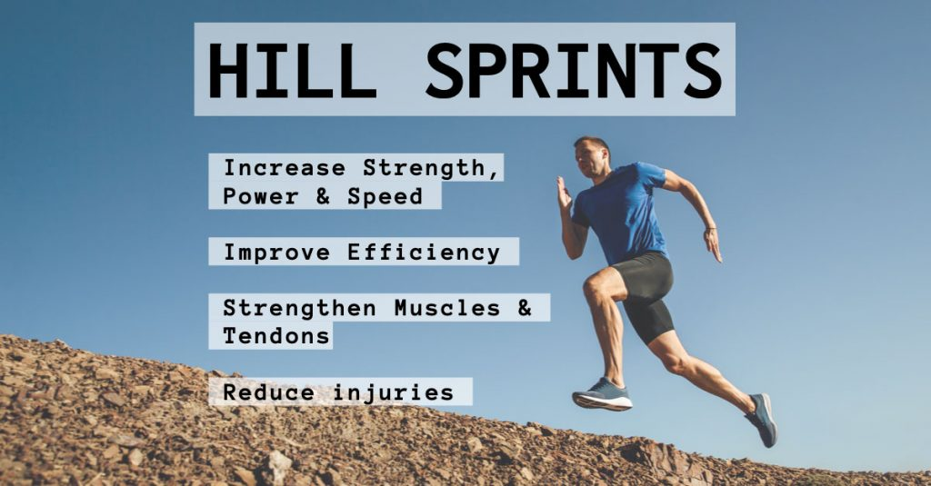 Hill Sprints Running Speed