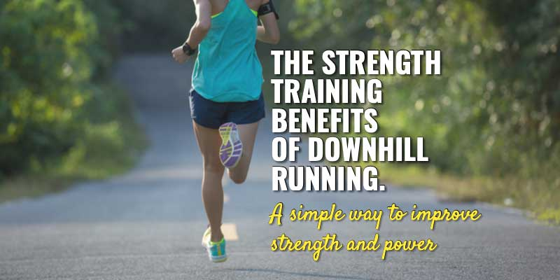 Downhill running training for strength